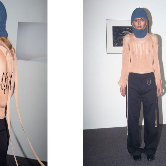 An Exploration of Knitwear's Synchronised Relationship with the Body