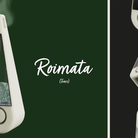 Roimata - Wearable Essential Oil Diffuser